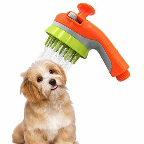 Pet Bathing Tool Pet Shower Sprayer, Dog Cat Grooming Brush, Massage Cleaning