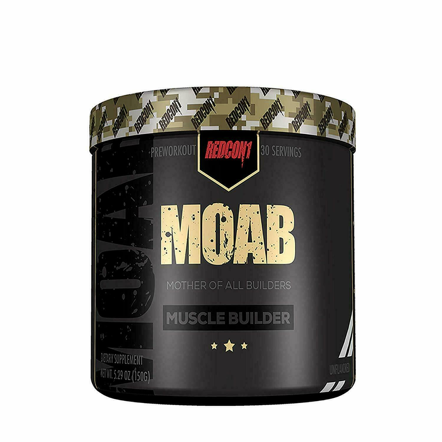 Redcon1 MOAB Muscle Builder 30 Servings + FREE SHAKER - ALL FLAVORS FREE SHIP  4