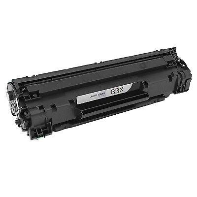 1PK CF283X 83X Black Toner Cartridge For HP LaserJet  Pro M201n MFP M125a