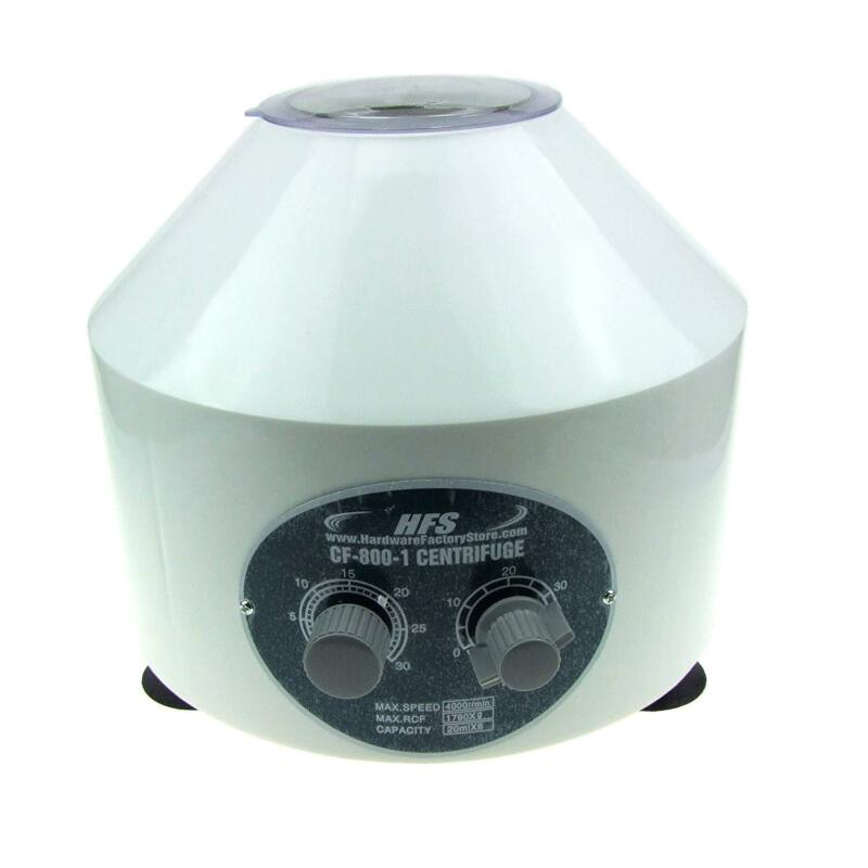 HFS(R) Electric Centrifuge Lab Medical Practice 4000 Rpm 20Ml X 6 Tube