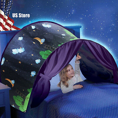 Dream Tents Pop Up Foldable Camping Outdoor Clouds Stars Moon Kids Baby Tent USA - Kids Pop Stars