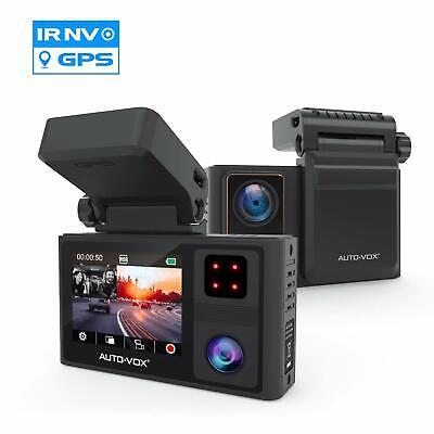 Aurora HD 1080P Dual Lens Dash Cam Car Camera Camcorder Video Recorder G-Sensor