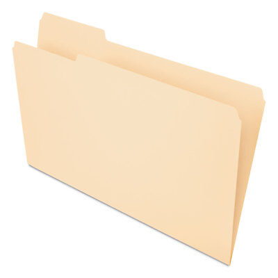 Pendaflex Essentials File Folders Straight Cut Top Tab Legal Manila 100box 753