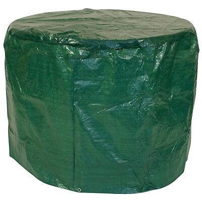 Schutzhülle Abdeckhaube Abdeckplane Gartenmöbel Tische Sets bis 100cm rund, grün