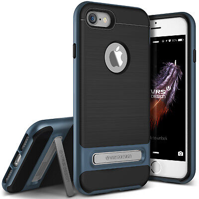 (For iPhone 7/7 Plus Case VRS® [High Pro Shield] Slim Shockproof Kickstand Cover)