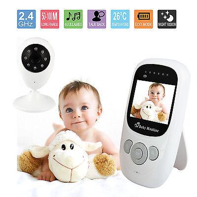 "2.4"" Baby Monitor Wireless Camera  Care Security Wifi Night Vision Audio UK"