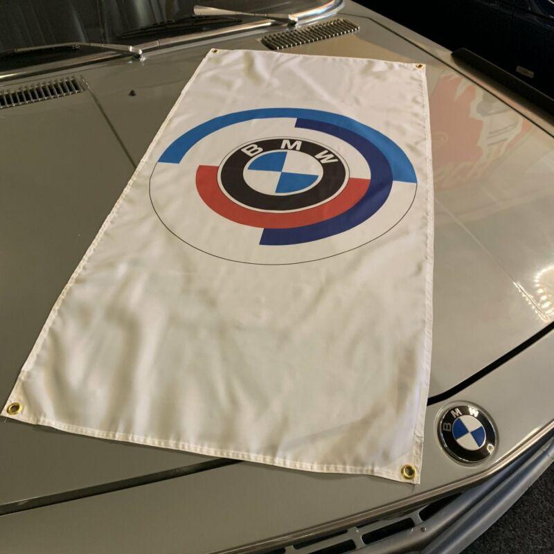 BMW M Motorsport Roundel Banner dinan g-power m1 m3 e30 f12 m6 i6 m4 Racing Flag
