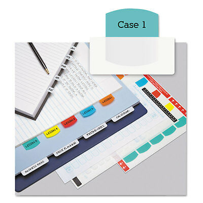 Redi-Tag Laser Printable Index Tabs 1 1/8 Inch Five Colors 100/Pack 33120