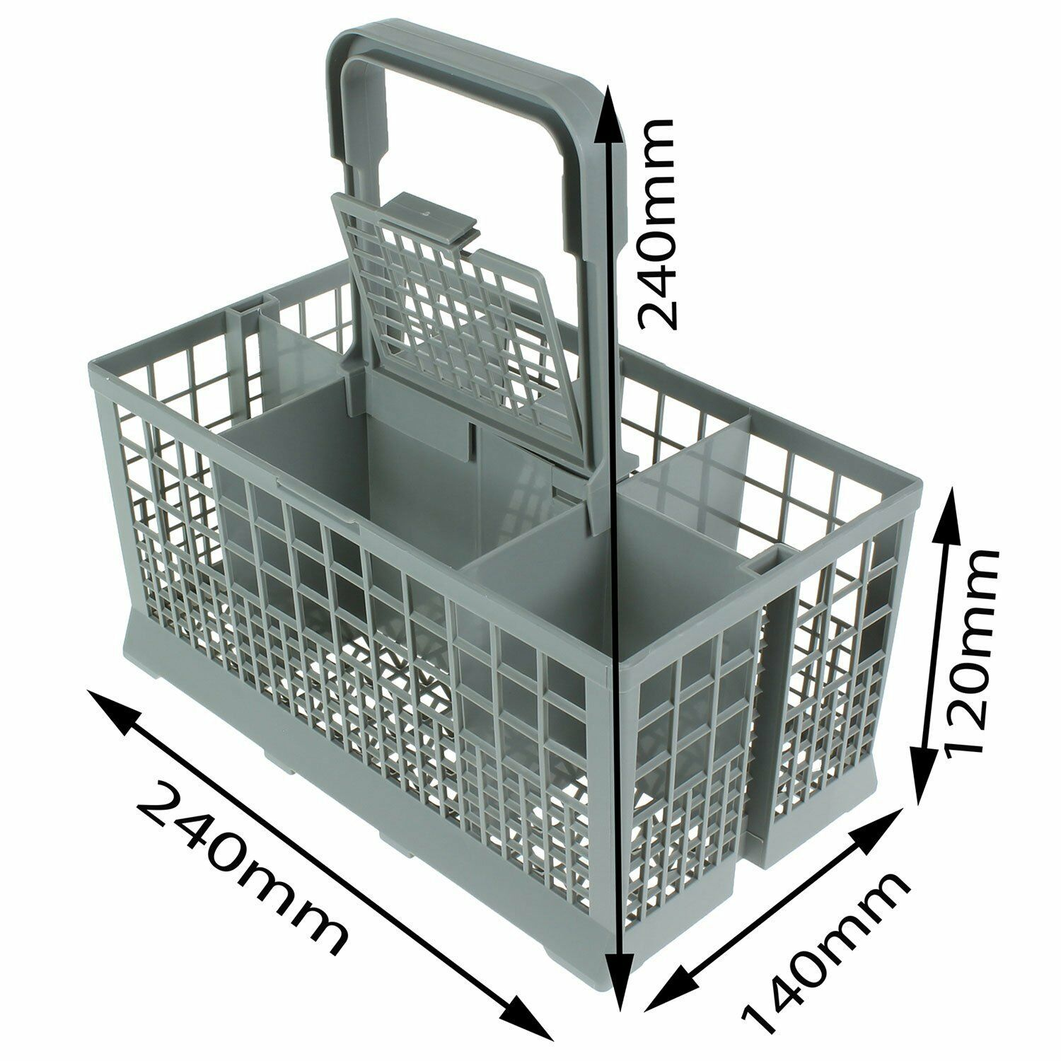 Universal Dishwasher Cutlery Silverware Basket For Whirlpool Maytag AMANS