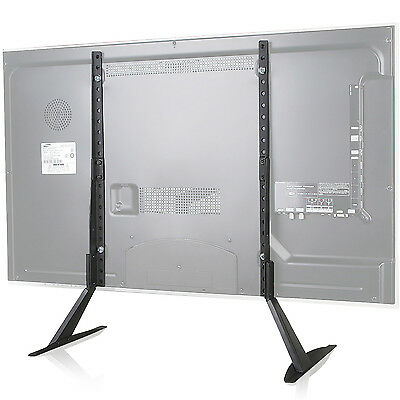"WALI Universal LCD Flat Screen TV Table Top Stand / Base fits 22"" to 65"" TVS001"