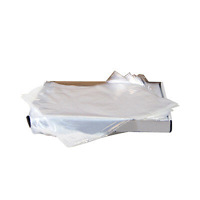 Tray Sleeves Large 11 58 X 16 Clear 500 Sleevesbox 2159