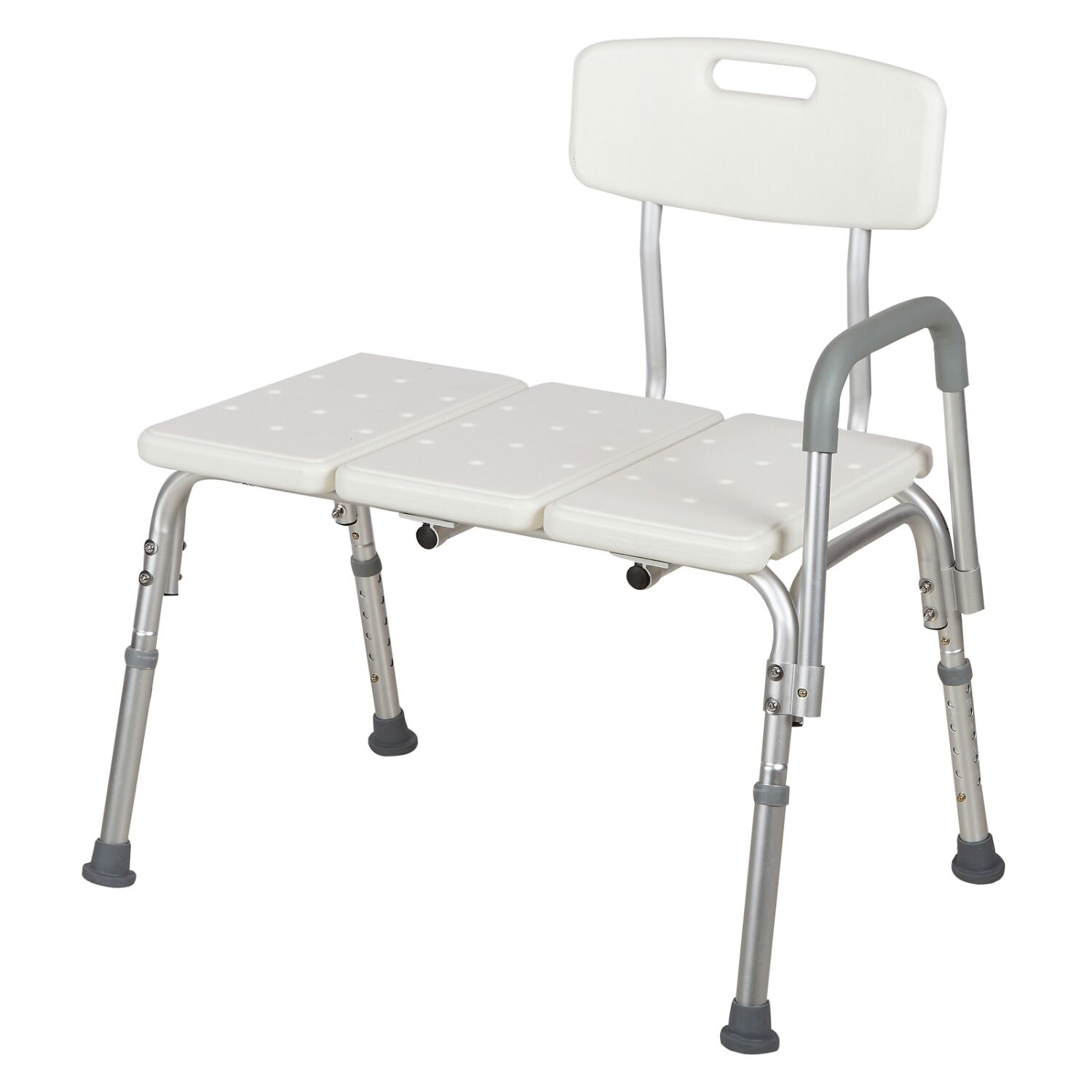 Adjustable 10 Height Medical Shower Chair Bath Tub Bench Stool Seat ...