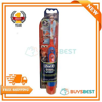 Braun Oral B Kids Battery Toothbrush - Braun Oral-B Advance Stages Power Kids Battery Toothbrush Disney Cars For 3+