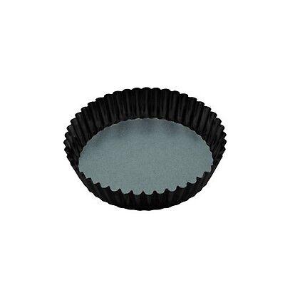 MasterClass Non-Stick Extra Deep Fluted Tart Tin / Flan Dish With Loose Base,... Extra Deep Tart
