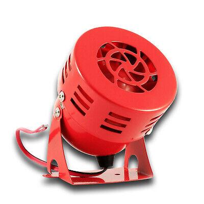 12V Metal Rojo Beeper Sirena Aviso Marcha Atrás Alarma Caravana Coche Autobús