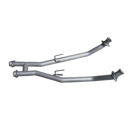 Exhaust Crossover Pipe-High-Flow Full H-Pipe Assembly fits 86-93 Mustang 5.0L-V8