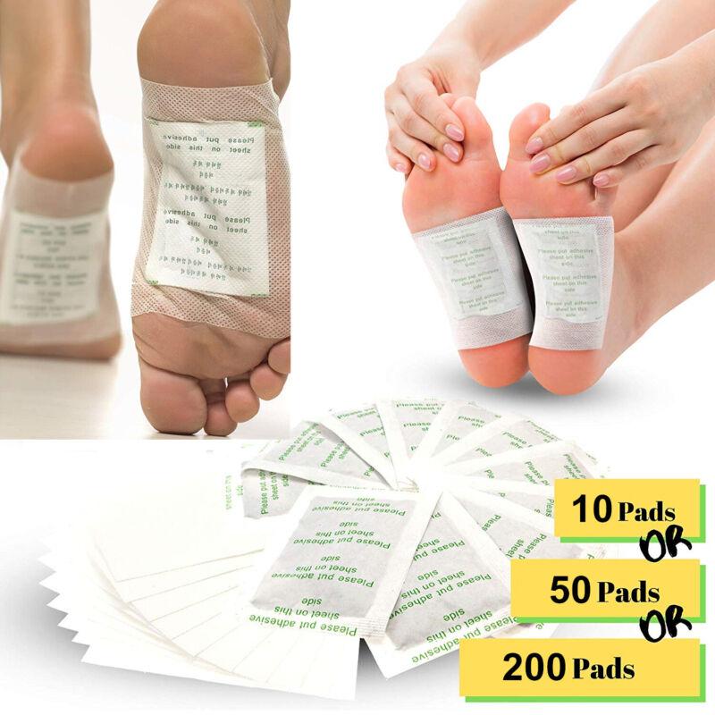 200Pcs Premium Ginger Detox Foot Pads Patch Organic Herbal Cleansing Detox Pads