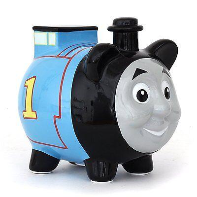 Licensed Thomas The Train 3D Shape Mini Ceramic Piggy Bank
