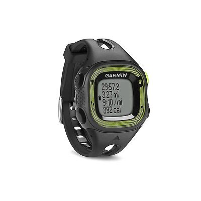 New Garmin Forerunner 15 Gps Fitness Sport Watch Small Black Green 010 01241 20