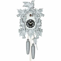 Cuckoo Clock 8-day-movement Carved-Style 15.7 by Hekas