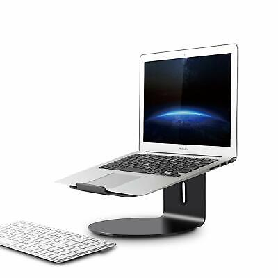 Used, Ergonomic Laptop/MacBook(11-17 inch) Aluminium alloy stand/mount-  dark gray for sale  Shipping to India