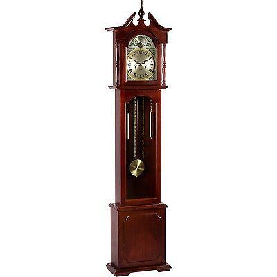 Standuhr Pendeluhr Uhr Pendel Regulator Mahagoni 196 cm