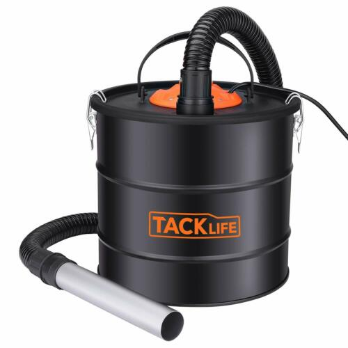 Ash Vacuum, TACKLIFE 800W Ash Vacuum Cleaner Ash VAC Canister 5 Gallon Capacity