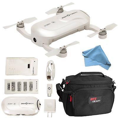 ZEROTECH DOBBY Mini Selfie Pocket Drone + 13MP HD With 4K Camera + Cam Bag Kit