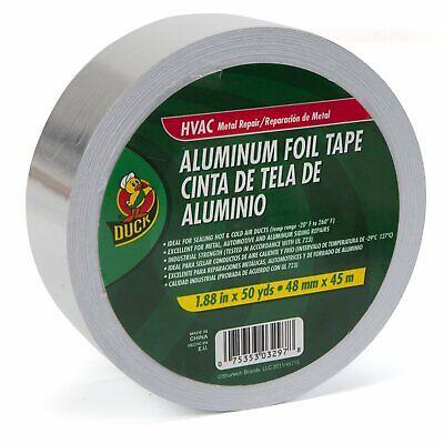 Duck 240225 Hvac Metal Repair Aluminum Foil Tape 1.88 X 50 Yard
