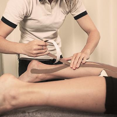 Taping Tape Neuromuskuläre Kinesiologisch Sport Sport Atmungsaktiv 6pezzi Beige