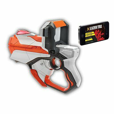 NEW NIB Nerf LAZER TAG Single Blaster Battle Pack Iphone or Ipod NERF Hasbro