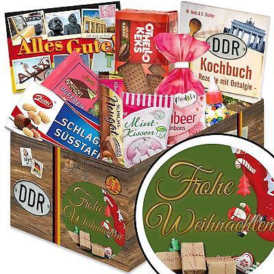 Frohe Weihnachten - DDR Süßigkeiten Box Weihnachtsgeschenk 3052Froehl