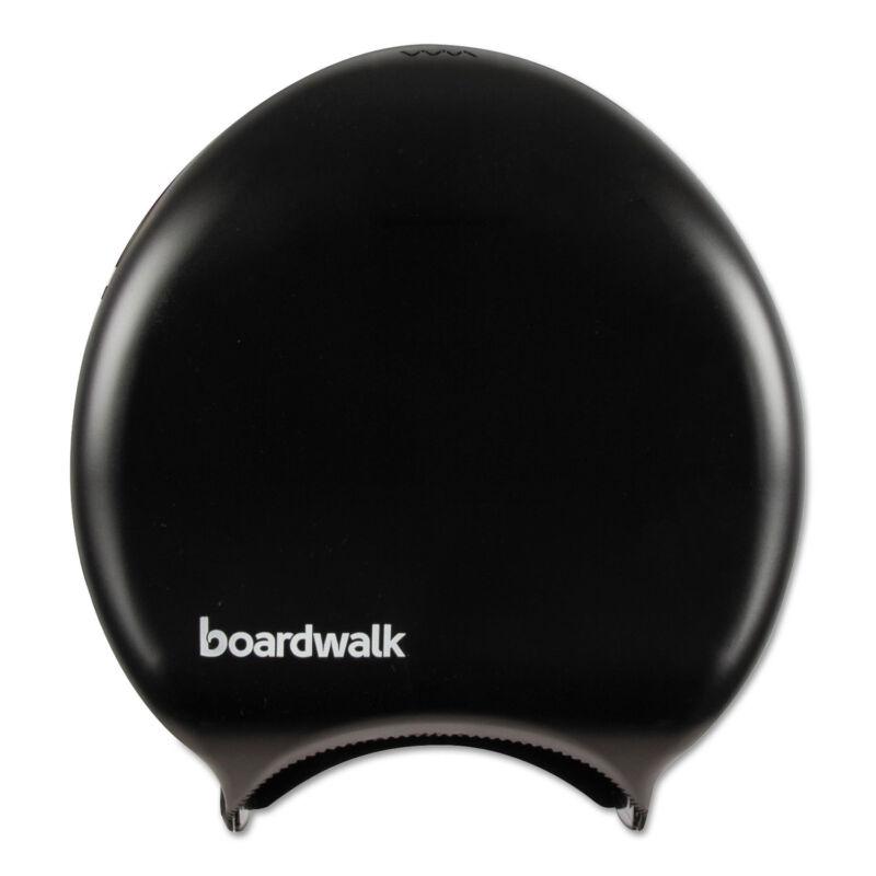 Boardwalk Single Jumbo Toilet Tissue Dispenser, 11 x 12 1/4, Black 1519
