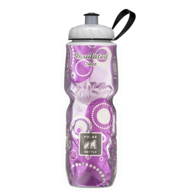 Polar Bottle 24oz Insulated Water Drink Bottle - BPA FREE - ANDROMEDA 0005