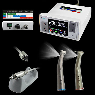 Nsk Led Dental Electric Motor 11 15 Low High Speed Handpiece Contra Angle