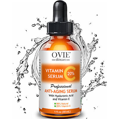? Pure Vitamin C Hyaluronic Acid Serum 20% for Face | BEST Anti Aging | 30 mL