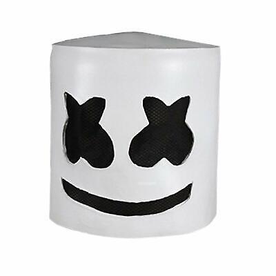 Game Fortnit Marshmallow Mask Music Festival Helmets Novelty Costume Party - Marshmallow Halloween Game