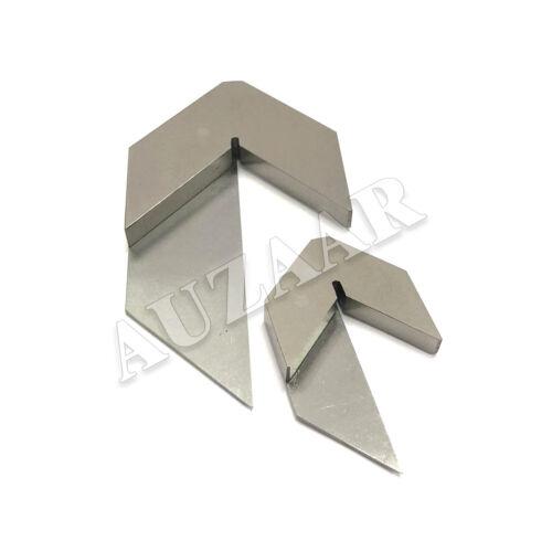 "Center Square Set 1-1/2"" & 3"" Machinist Centering Hand Tool Centre Finder Gauge"