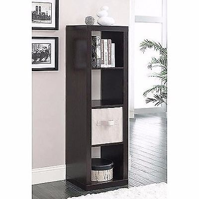 Better Homes and Gardens Storage Cubes 4-Cube Organizer Bookcase shelf