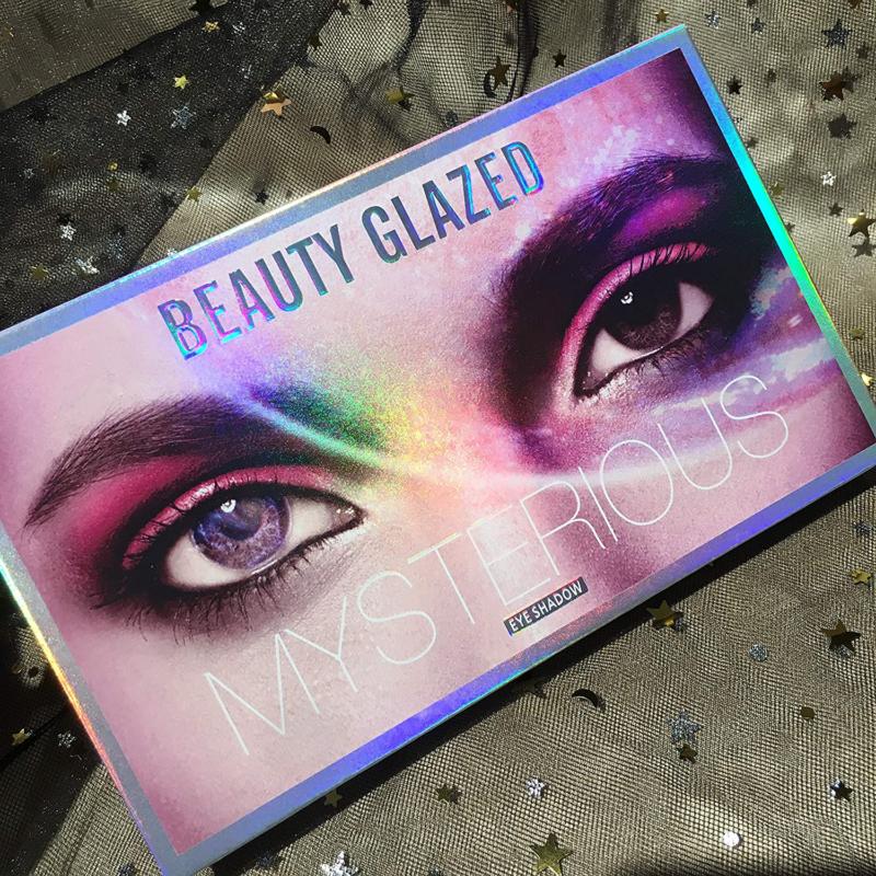 Beauty Glazed Mysterious Makeup Palette, 18 Colors Ultra Pig