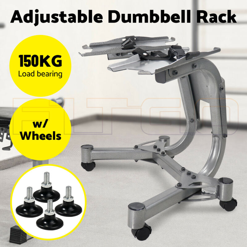 New Adjustable Dumbbell weight rack stand, Bowflex selectTech, same day shipping