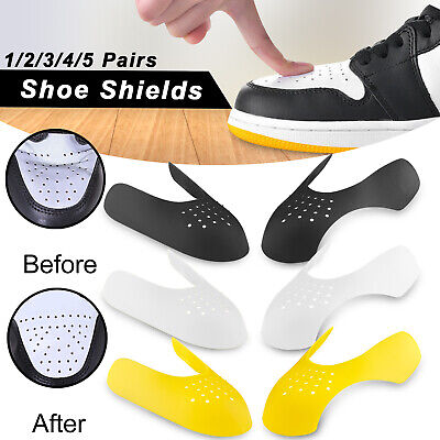 Sneaker Shoe Shields Toe Box Anti Crease Force Decreaser Protector Universal 5PC