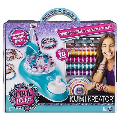KumiKreator Cool Maker Kumi Kreator Friendship Bracelet Kit Spin Master Makes 10