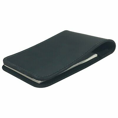"""Memo Book Cover Scratch Pad Holder 3"""" X 5"""" Solid Thick Leather Pocket Notebook"""