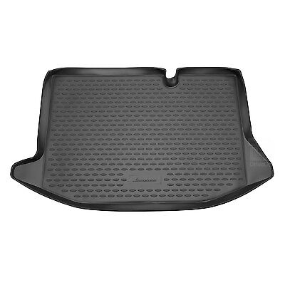 Ford Fiesta Mk.6 11-17 Rubber Boot Liner Tailored Fitted Black Floor Protector
