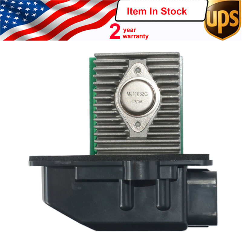 For 2001-2011 Ford Crown Victoria EATC Blower Motor Control Module - Resistor