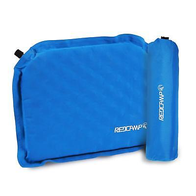REDCAMP Inflatable Sports Seat Cushion with Storage Bag Watch Game in Stadium - Inflatable Sports