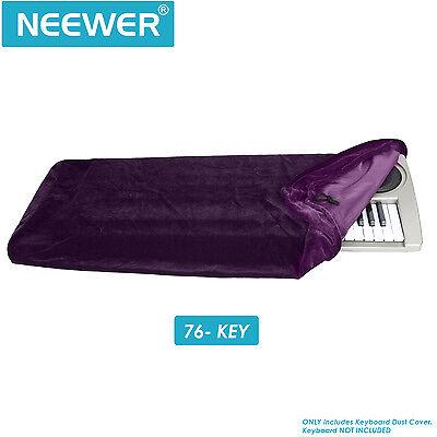 Neewer Keyboard Dust Cover for 76 Key Keyboards(Purple)