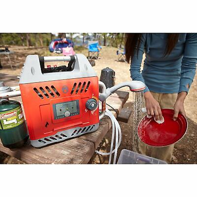 Portable Propane Water Heater Camping Shower Hot H2O Warm Beverages Clean Dishes