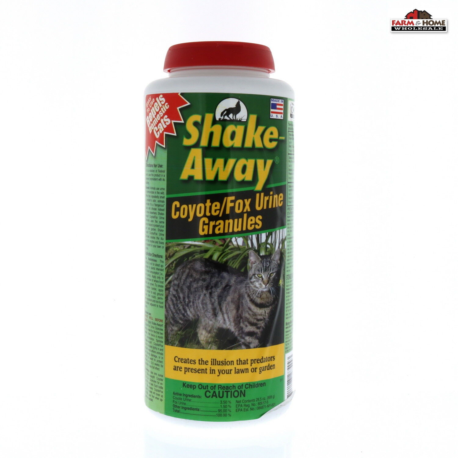 Domestic Cat Repellent Feral Cat Repellent Coyote/Fox Urine